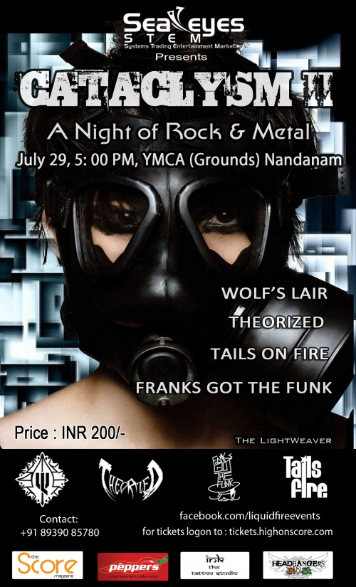 Event Update :: Cataclysm Chennai :: July 29th, 2012