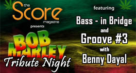 Time to get your Rasta on with Groove #3 and Bass-in Bridge