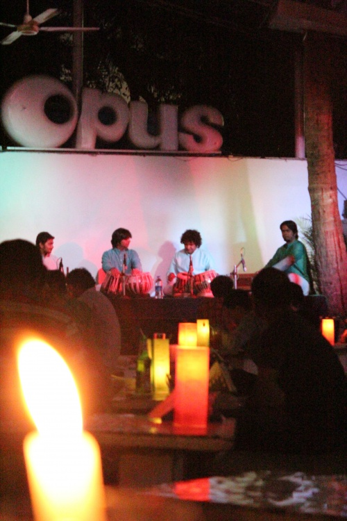 Gig Review :: Talavya Live and in the flesh at Opus, Bangalore