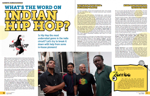 The Indian Face of Hip Hop