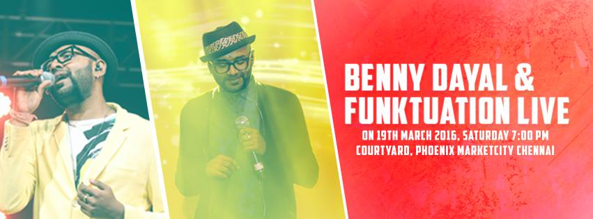Benny Dayal & Funktuation Live in Chennai