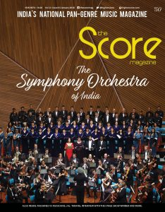 January 2018 issue featuring Symphony Orchestra of India on the Cover!