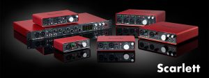 Weekly Shout-out: Focusrite- The Scarlett Series