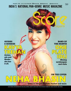 Neha Bhasin on the cover of May 2018 issue!