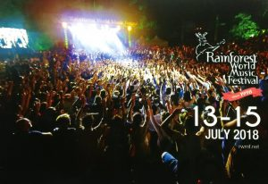 Rainforest World Music Festival: In conversation with Angelina Bateman, Director of Event and Corporate Relations