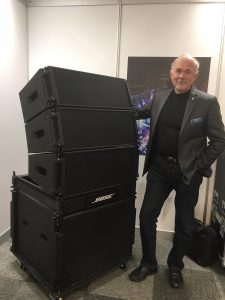 India's top AV rental companies saw the Bose Professional ShowMatch DeltaQ line array system first hand at Palm Expo 2018!