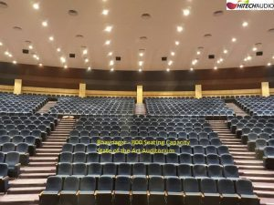 Comprehensive Bose Professional system reinforces an unmatched aural experience at the Bhavnagar Municipal Corporation (BMC) auditorium