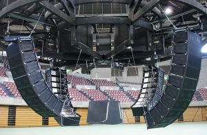 Line array configurations