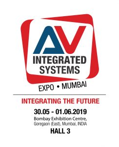 #Announcement: AV Integrated Systems Expo, Mumbai, India for 2019