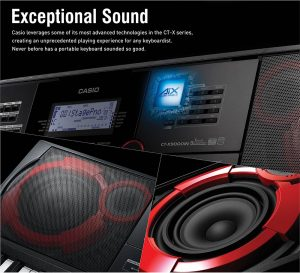 Casio India launches 4 new CT-X Series keyboards with new AiX Sound Source