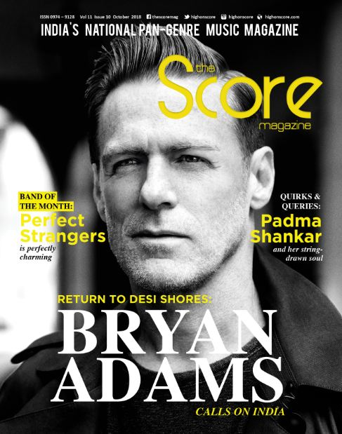 October 2018 issue featuring Bryan Adams on the cover!