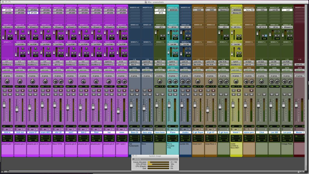 How to prepare for Mixing