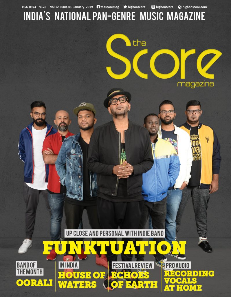 January 2019 issue featuring Funktuation on the cover!
