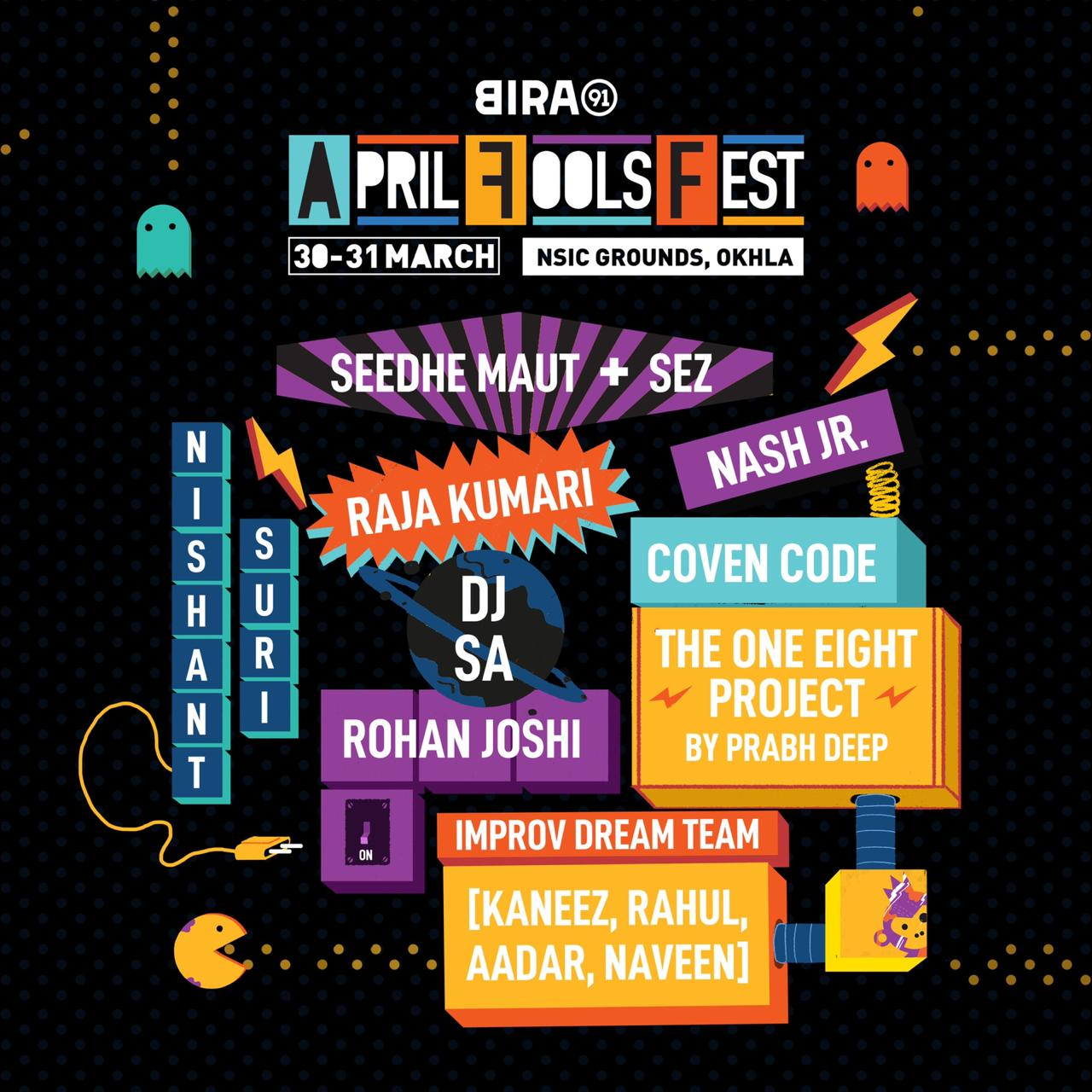 Line-up announcement- Bira 91 April Fools' Fest
