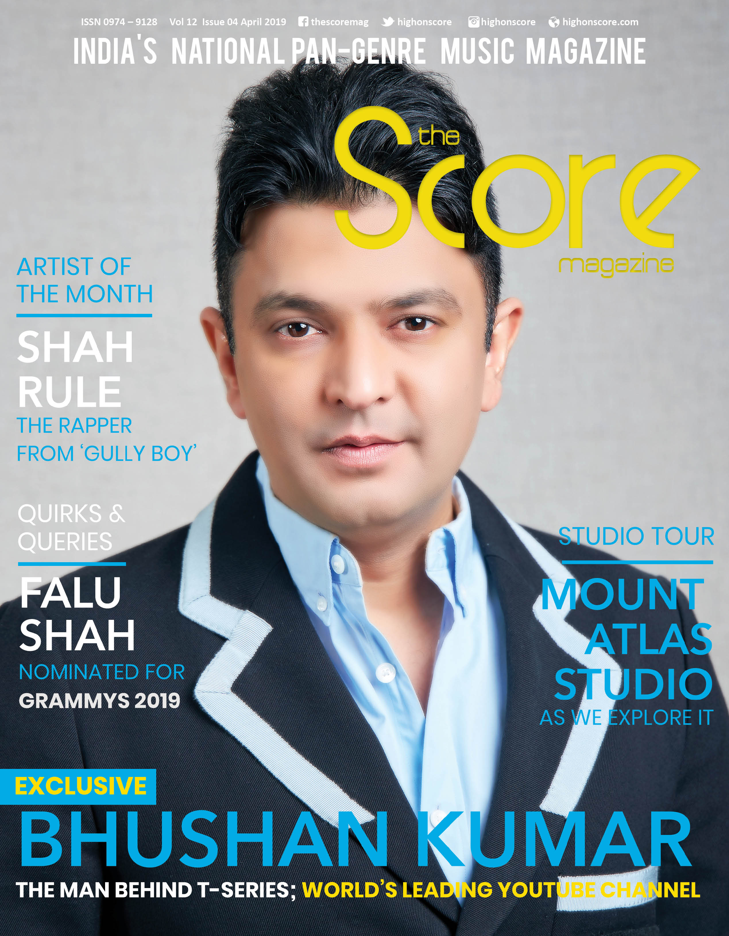 April 2019 issue featuring Bhushan Kumar on the cover!