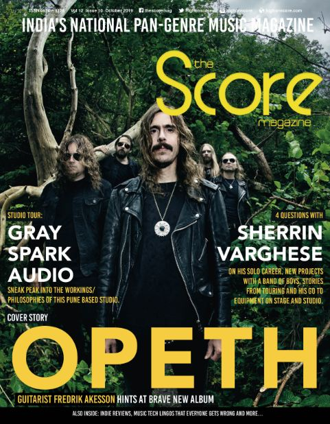 October 2019 issue featuring Opeth on the cover!