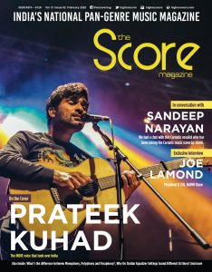 February 2020 issue featuring Prateek Kuhad on the cover
