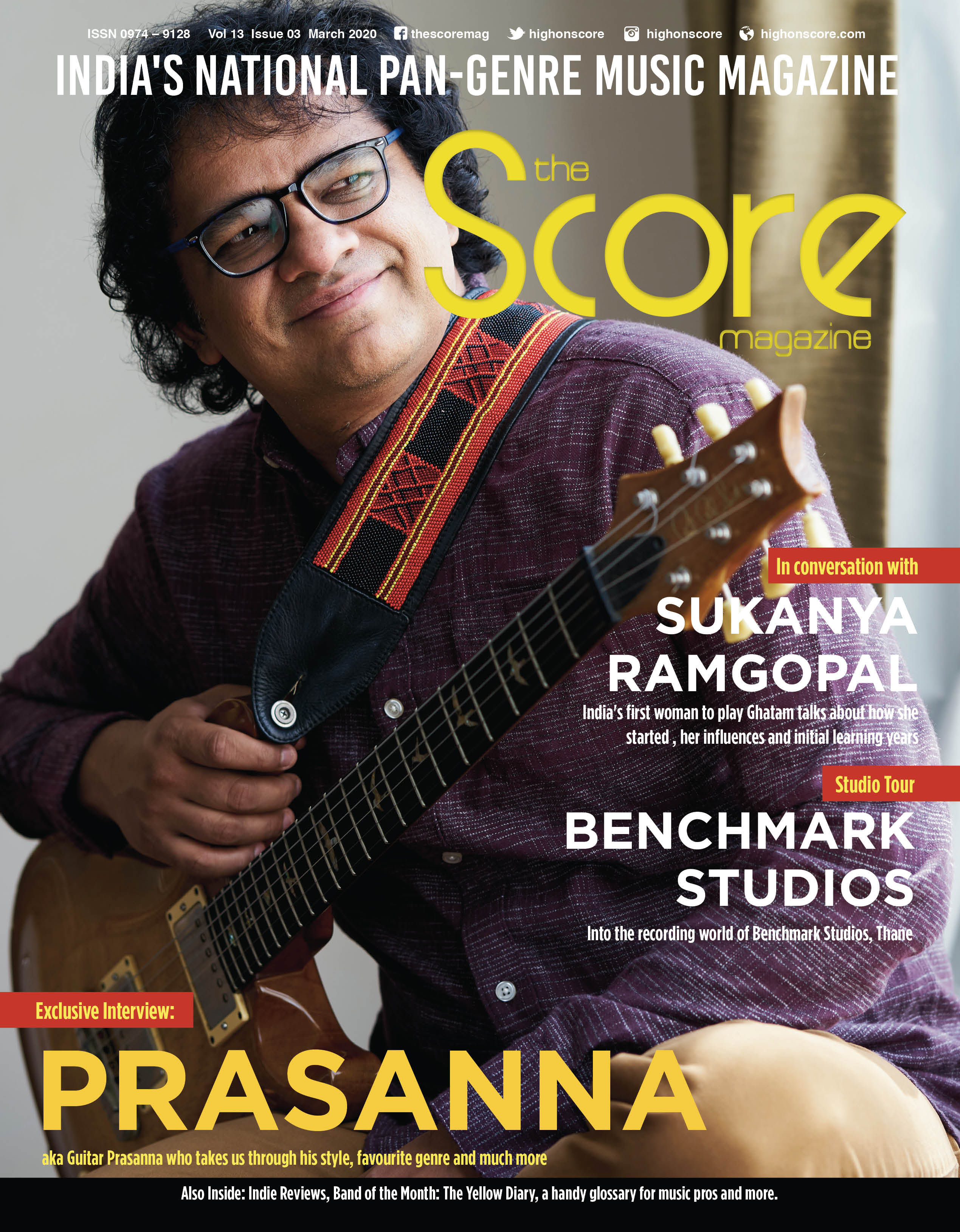 March 2020 issue featuring Guitar Prasanna on the cover!