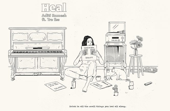 Indie Review: Heal (Aditi Ramesh feat. Tre Ess)