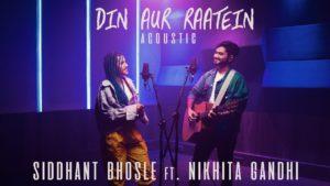Siddhant Bhosle- Din Aur Raatein- Score Indie Reviews