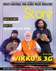 The Score Magazine April 2021 issue
