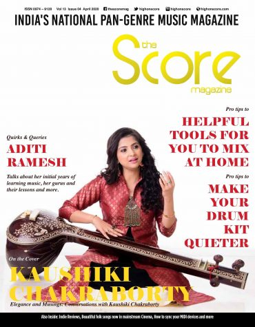 April 2020 issue featuring Kaushiki Chakraborty on the cover